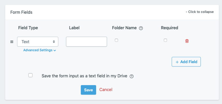 File Request Pro - Add field to upload page